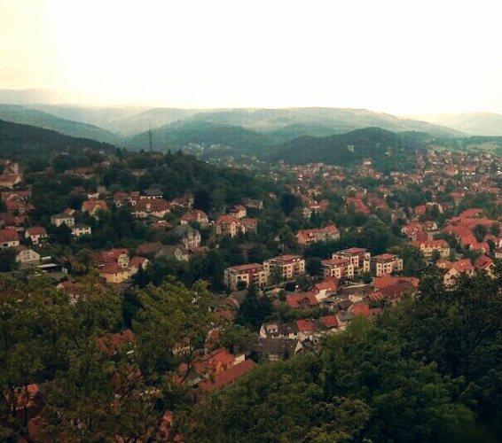 Reisebericht Harz Tal Dorf Hauser